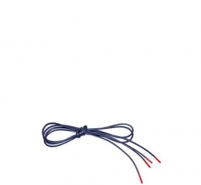 Think Zubehör Schuhband mit roten Enden BLAU