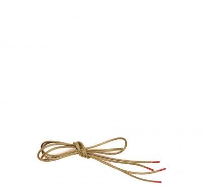 Think Zubehör Schuhband mit roten Enden BEIGE