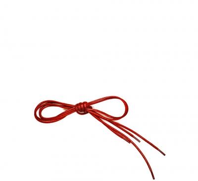Think Zubehör Schuhband mit roten Enden ROT