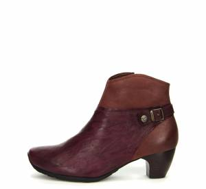 Think Stiefelette ANA ROT