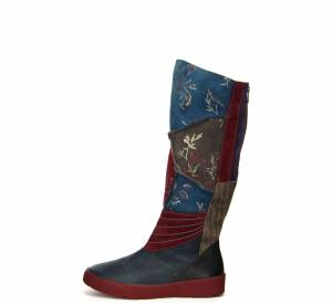 Think Stiefel DRUNTA BLAU