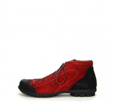 Think Stiefelette KONG ROT